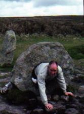Men-An-Tol ancient stone ring Cornwall