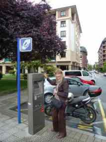 Pay and display in Spain