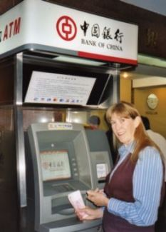 ATM machines abroad