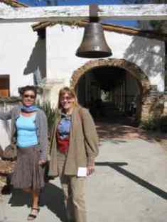 Houseguests enjoy visiting local attractions like Carmel Mission