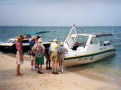 Boat to Turtle Islands Borneo