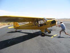 GPS Satellite Tracker gets Piper J-3 Cub to Oshkosh