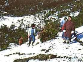 Trekking in Bhutan, snow took us by surprise