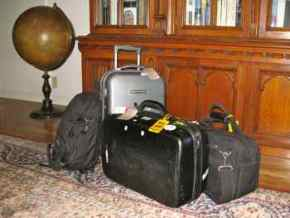 Our carry-on luggage - enough for your whole trip!