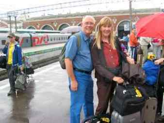 Boarding the Trans-Siberian Railway