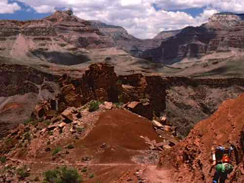Hike into the Grand Canyon