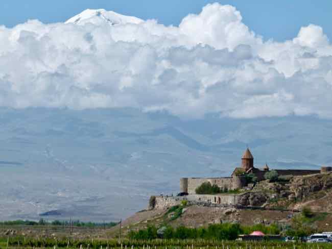 Khor Virap Monastery, Armenia and Mt. Ararat