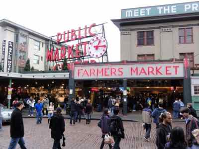 Pike Place Market on the Seattle Waterfront