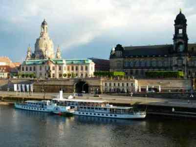 Dresden with Frauenkirche
