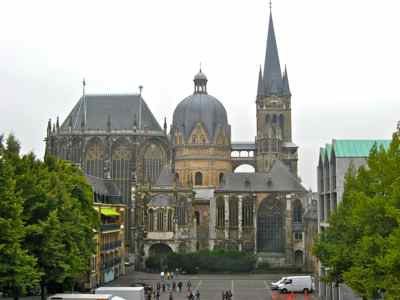 Cathedral in Aachen Germany