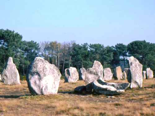 Alignments at Carnac, France