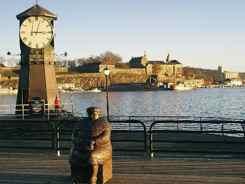 Oslo Akershus from Aker Brugge