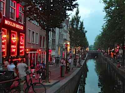 Amsterdam redlight distict