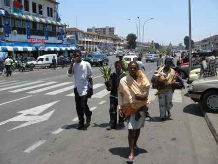 Streets of Antananarive, Madagascar