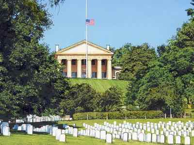 Arlington Cemetery and Arlington House
