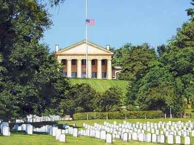 Arlington Cemetery and Arlington House