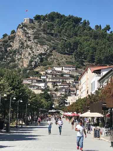 Berat, Main Pedestrian Street