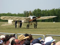 Bleriot XI at La Ferte Alais Air Show, France