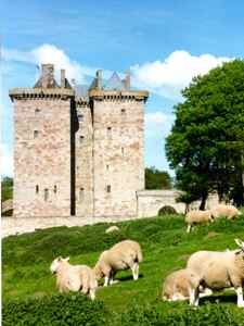 Borthwick Castle - Scoltand