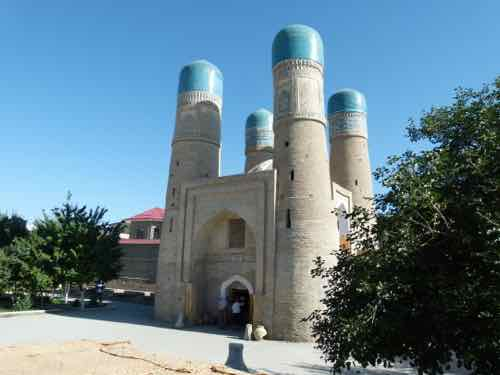 Chor Minor, Bukhara