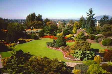 Butchart Gardens in Victoria British Columbia
