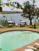 Chobe Game Lodge Pool and Chobe River