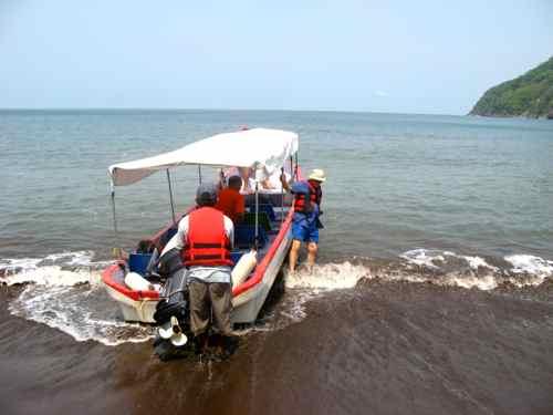 Crossing the Gulf of Fonseca