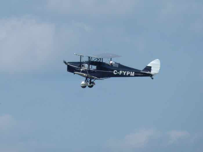 1932 de Havilland DH-83 Fox Moth