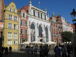 Gdansk Poland - Centrum - City Center