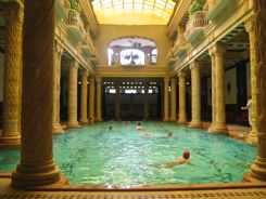 Gellert Baths Indoor Pool Budapest