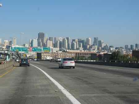 US Highway 101 into San Francisco