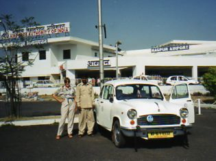 Hirecar and driver in India
