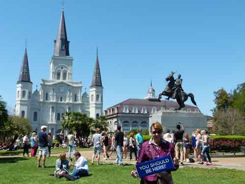 New Orleans DreamTrip in Jackson Square