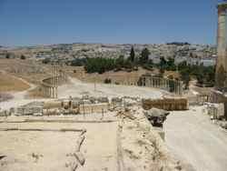 Roman Ruins of Jerash Jordan