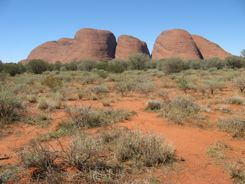 Kata Tjuta -- also known as The Olgas