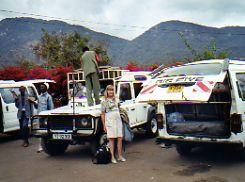 Kenya-Tanzania border crossing