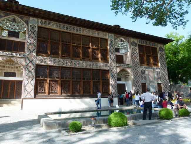 Khan's Palace, Sheki, Azerbaijan