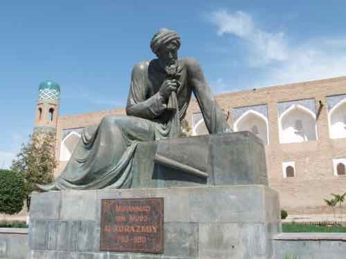 Statue of Muhammad ibn Musa al-Khwarizmi, Khiva