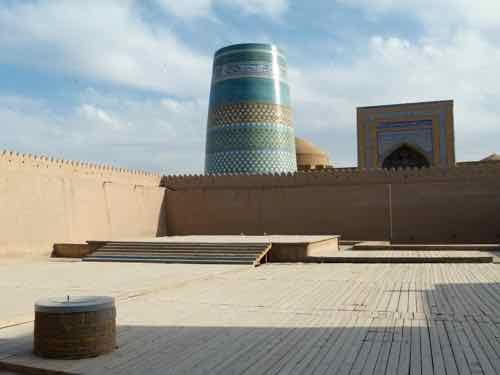 Legendary well found by Shem, son of Noah, Khiva