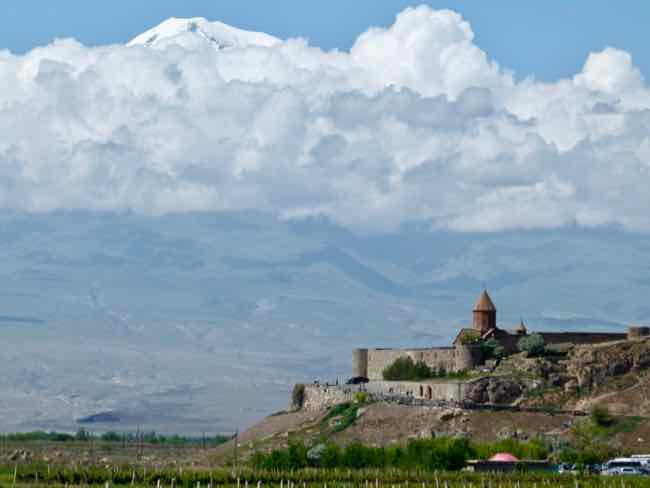 Khor Virap Monastery, Armenia and Mt. Ararat