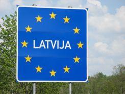 We're in Latvia... Where was the border crossing?
