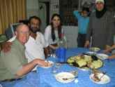 Mansaf for dinner with Jordanian friends