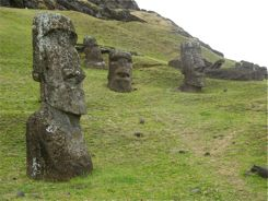 Moai in the
