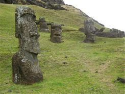 Moai in the