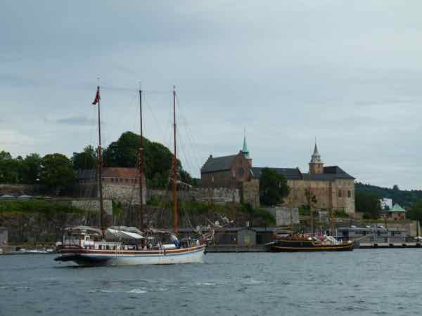 Oslo Akershus and harbor