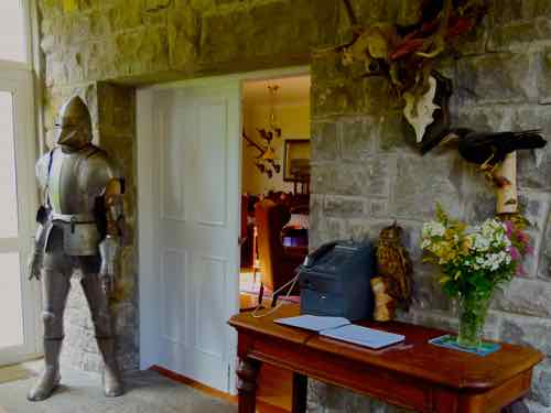 Ross Castle reception area
