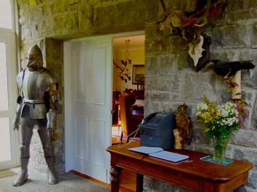 Ross Castle reception area