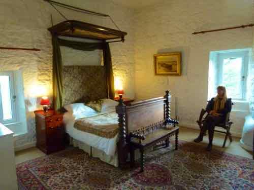 Ross Castle tower room