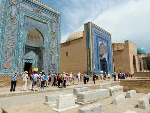Shah-i-Zinda mausoleum complex