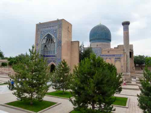 Gur-e-Amir - Tomb of Tamerlane or Timur